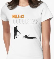 RULE #2 DOUBLE TAP Women's Fitted T-Shirt