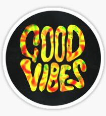 Good Vibes - Rasta  Sticker