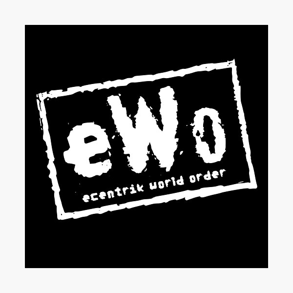 Ecentrik World Order Photographic Print