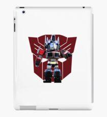 Transformers optimus prime deformed iPad Case/Skin