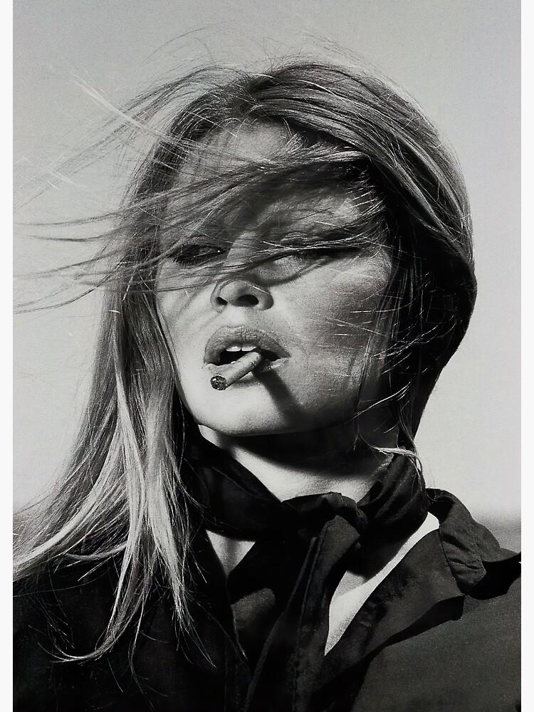 Brigitte Bardot Rauchen von modernretro