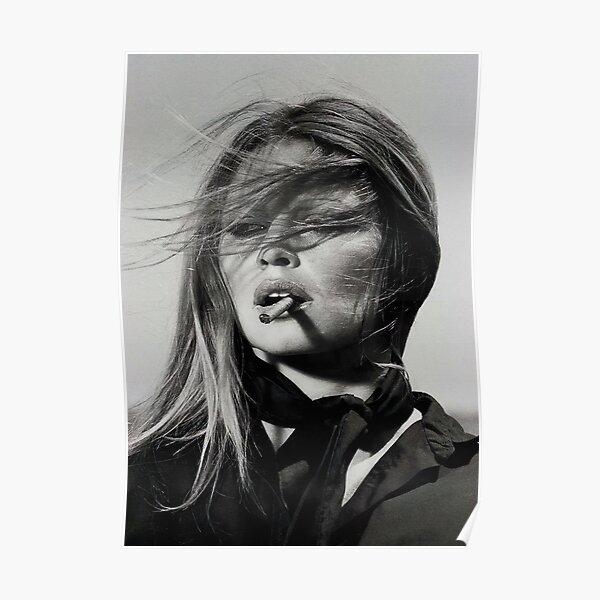 Brigitte Bardot Hot Beautiful Portrait Vintage Giant Print POSTER Plakat
