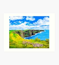 Cliffs of Moher - Fairytale Ireland Art Print