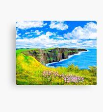 Cliffs of Moher - Fairytale Ireland Canvas Print