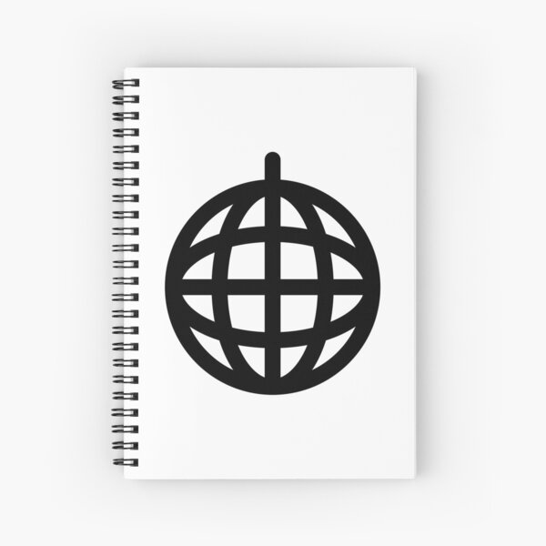 #Logo #Icon #LogoIcon Spiral Notebook