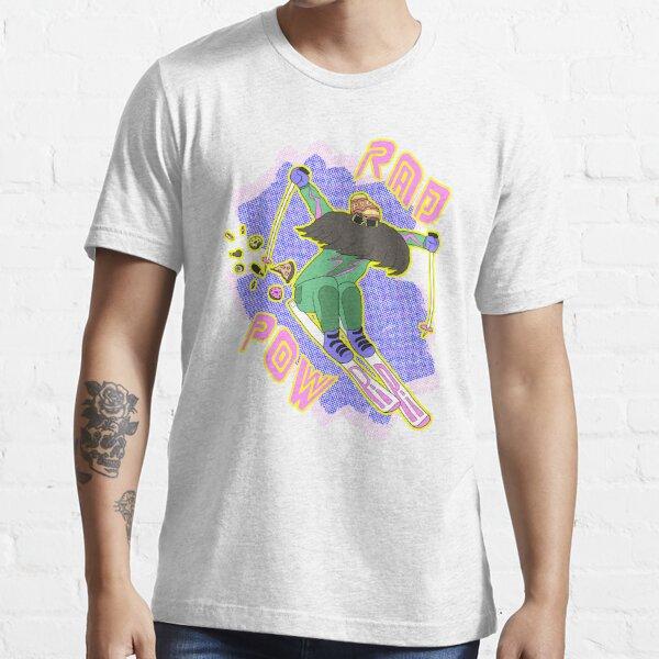 True '80s Ski Legend - Rad Pow Essential T-Shirt