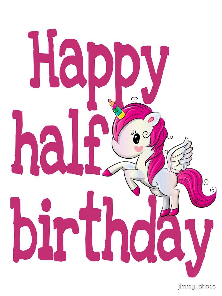 Pastel and gold half birthday Unicorn half birthday outfit girl pink half birthday gold pink and  gold 6 month outfit unicorn half birthday