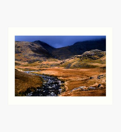 Upper Eskdale - The Lake District Art Print