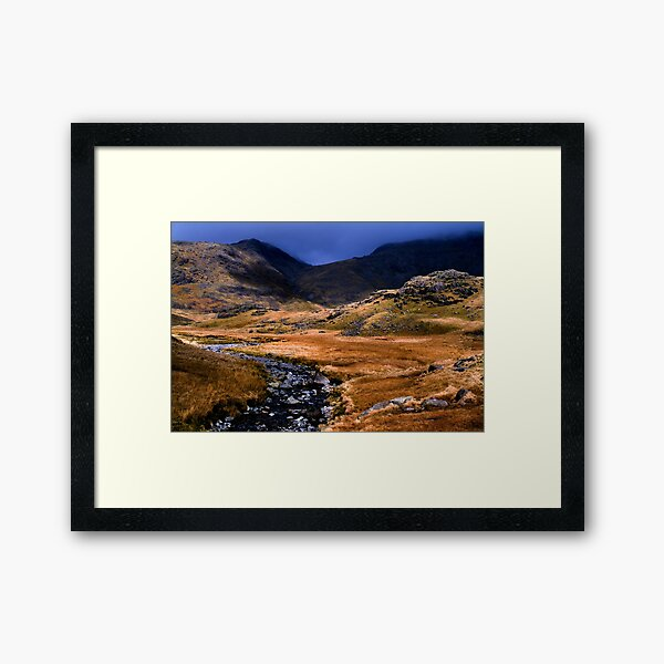 Upper Eskdale - The Lake District Framed Art Print