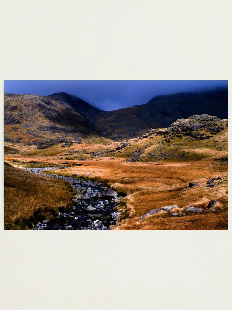 Alternate view of Upper Eskdale - The Lake District Photographic Print
