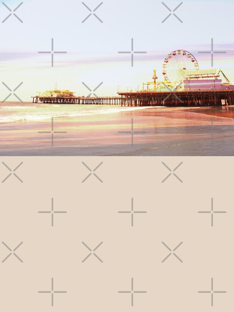 Santa Monica Pier Sunrise by stine1