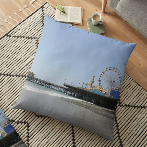 Santa Monica Pier Floor Pillow