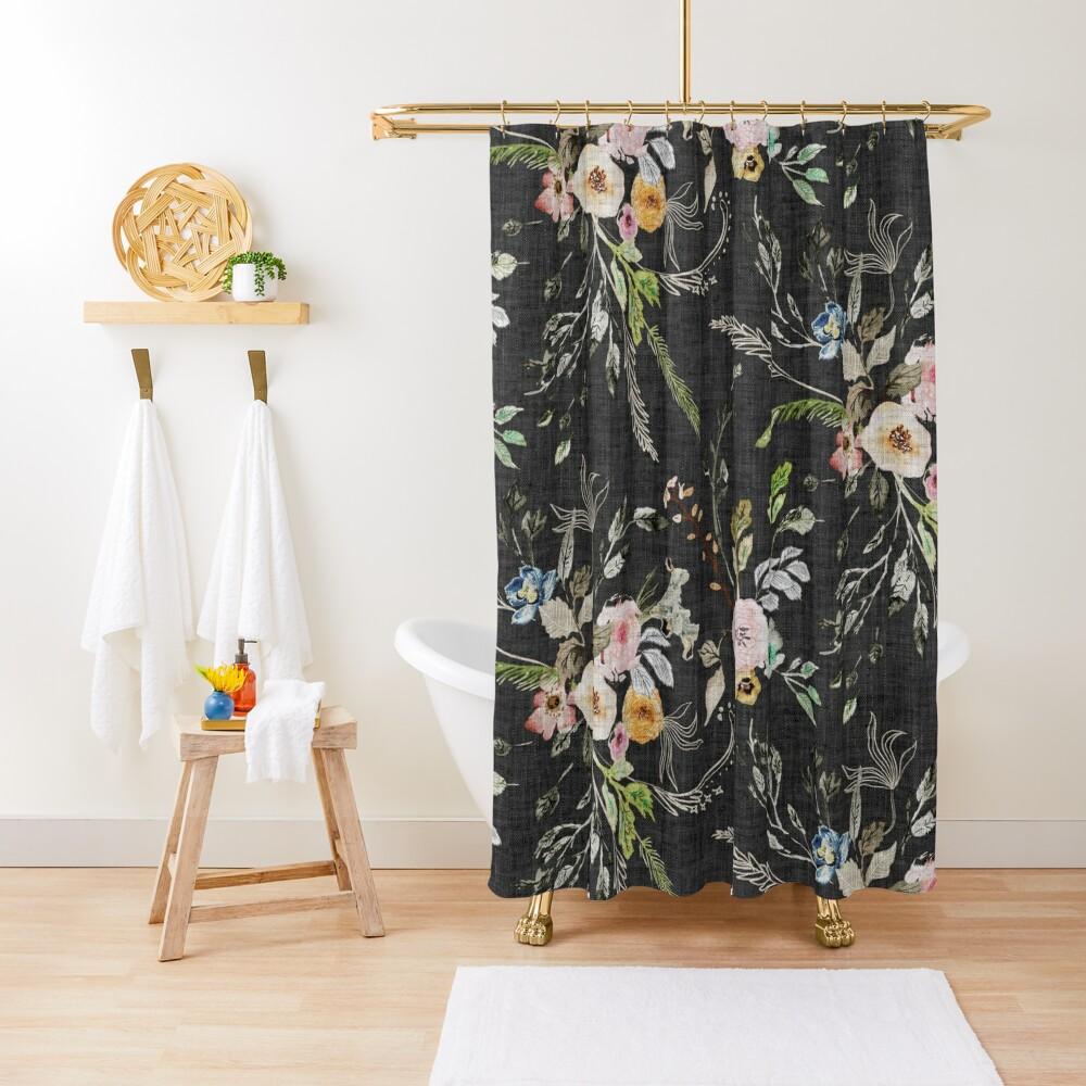 La Boheme Floral  Shower Curtain