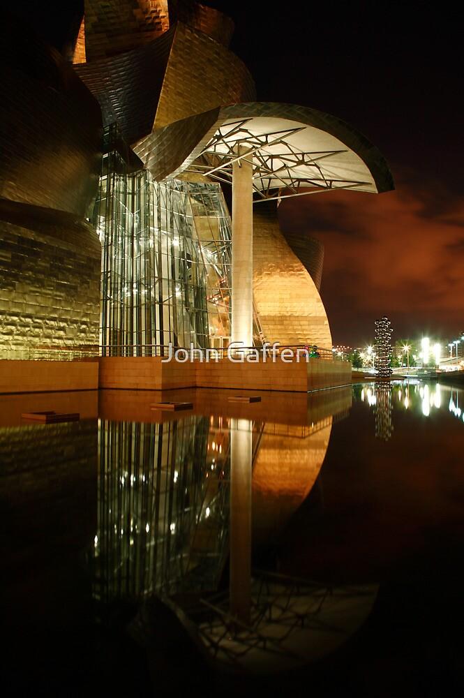 Guggenheim Reflections I by John Gaffen