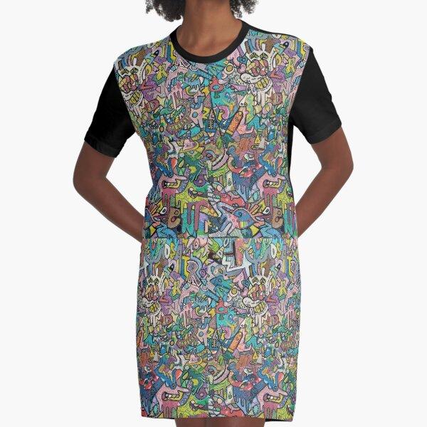 Camila Graphic T-Shirt Dress