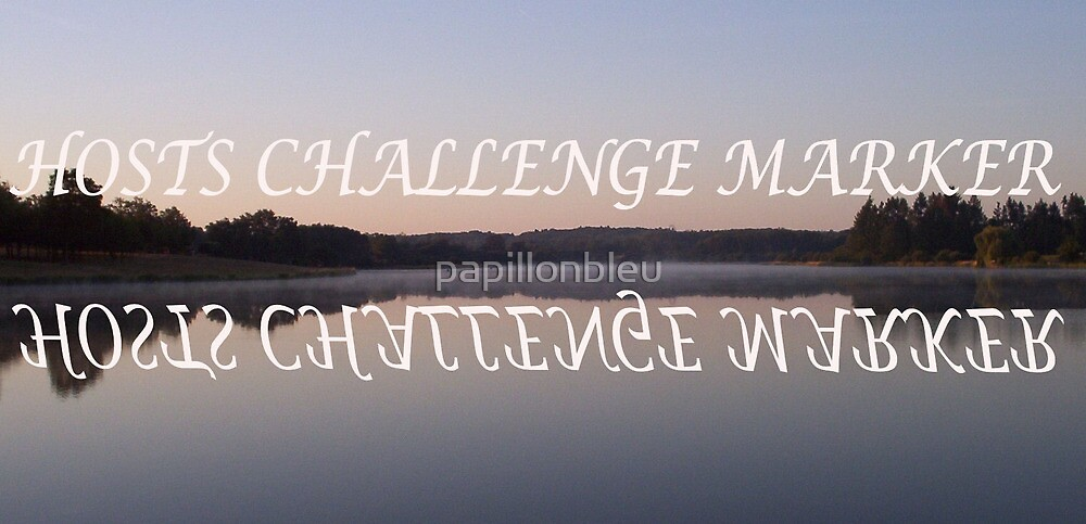 CHALLENGE MARKER by Pamela Jayne Smith