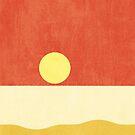 LANDSHAPES / Beach - Sunset by Daniel Coulmann
