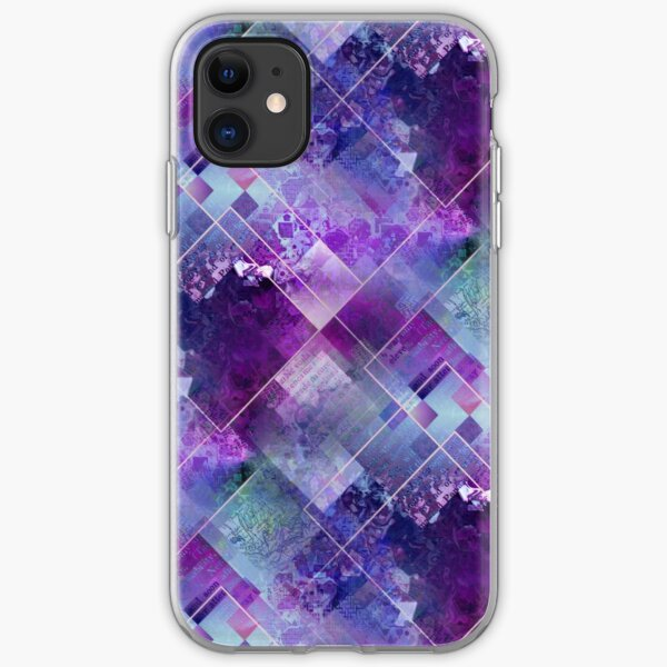 Marbleized Amethyst  iPhone Soft Case