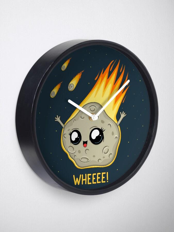 Alternate view of Cute Kawaii Asteroid Clock