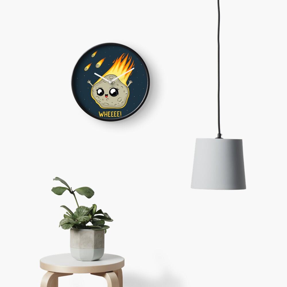 Cute Kawaii Asteroid Clock