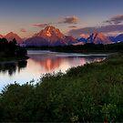 Mount Moran  by Justin Baer