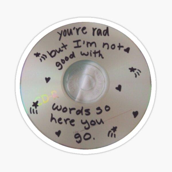 Eres rad cd Pegatina
