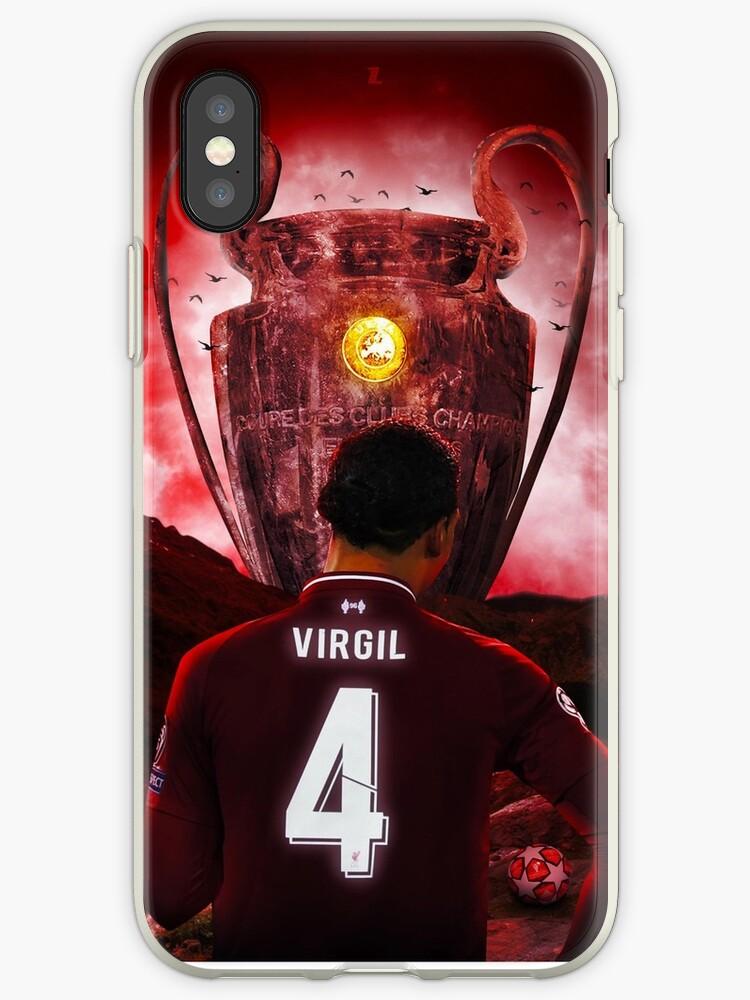 finest selection 8aa5d 75b26 'Liverpool FC - Virgil Van Dijk Champions League Trophy' iPhone Case by  joejenx