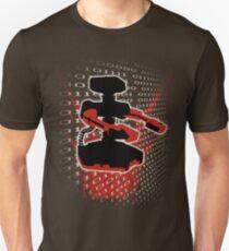 Super Smash Bros Famicom ROB Silhouette Unisex T-Shirt
