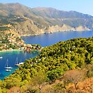 Mountain Top View - Assos Village by Honor Kyne