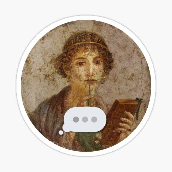 Pompeii Text Message Sticker