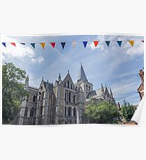 Rochester Cathedral, England Poster