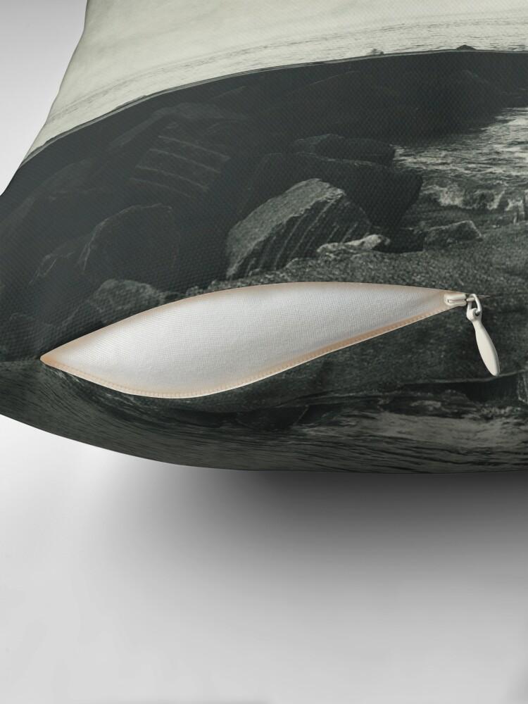 Alternate view of VertigOcean - surreal seascape Floor Pillow