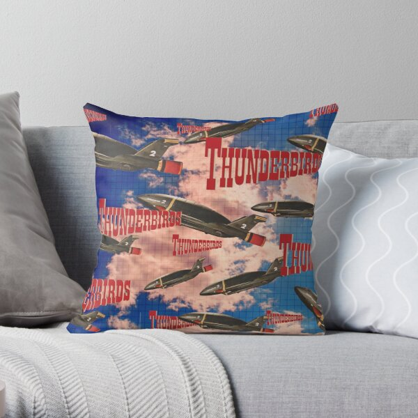 Thunderbirds 2 Throw Pillow