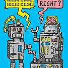 «Charla de robot» de jarhumor