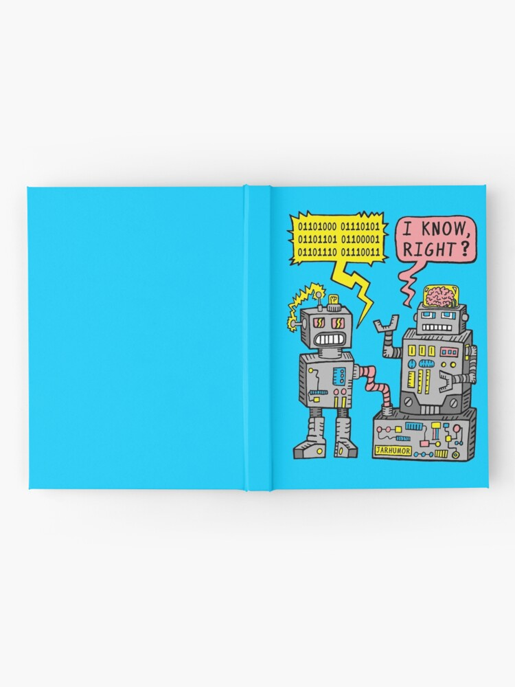 Alternate view of Robot Talk Hardcover Journal