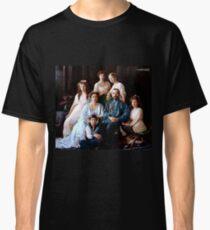 Colorized Romanoff Family Portrait 1913-14 Classic T-Shirt