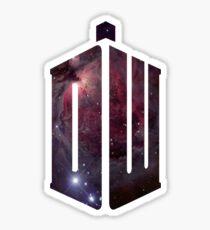 Doctor Who: Logo Model 2 Sticker