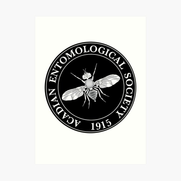 Acadian Entomological Society (Logo #3) Art Print