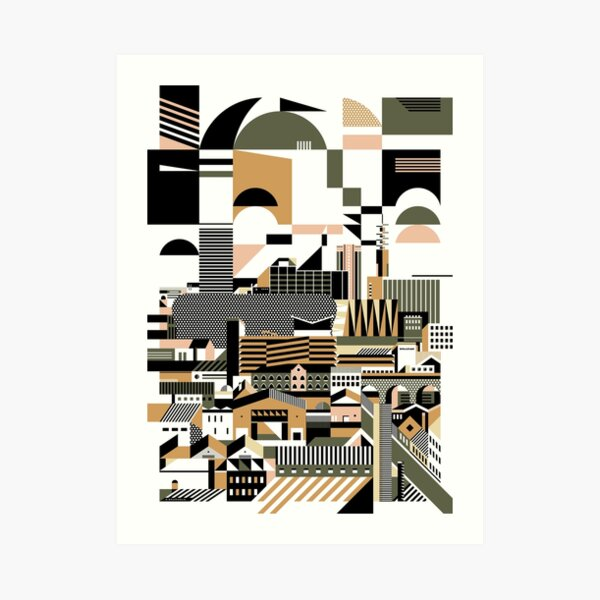 Graphicity Art Print