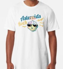 Asteroids Rock! Long T-Shirt