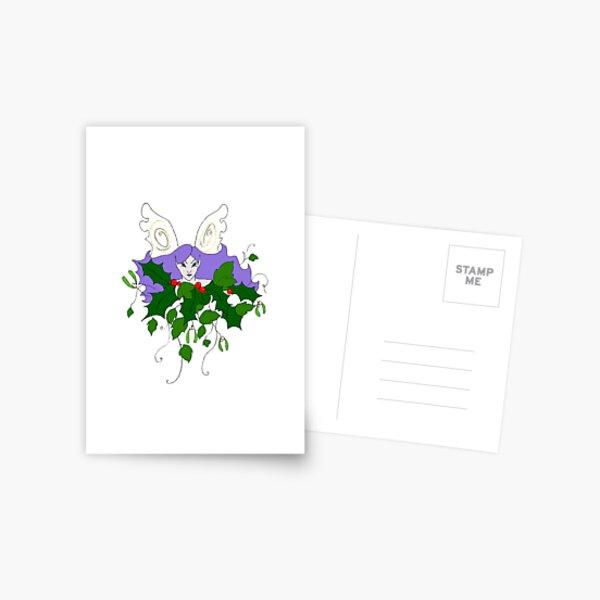 Holly, Ivy & Mistletoe Postcard