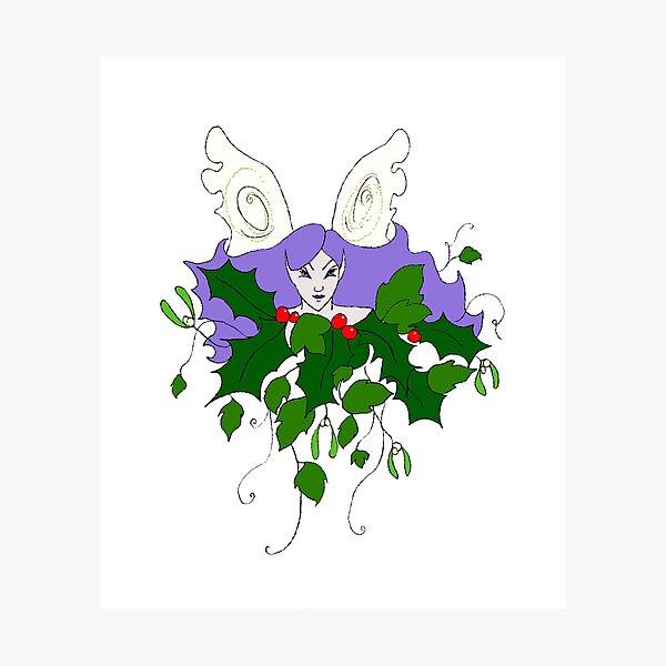 Holly, Ivy & Mistletoe Photographic Print