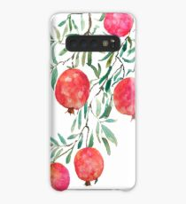 pomegranate watercolor Case/Skin for Samsung Galaxy