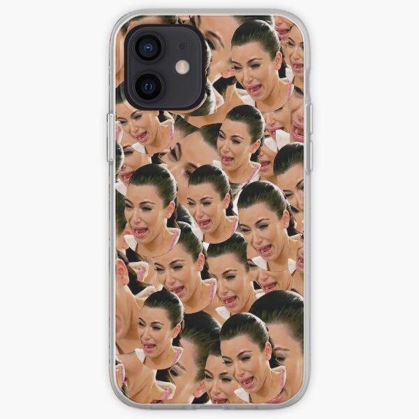 Weinen Kim Kardashian iPhone Flexible Hülle