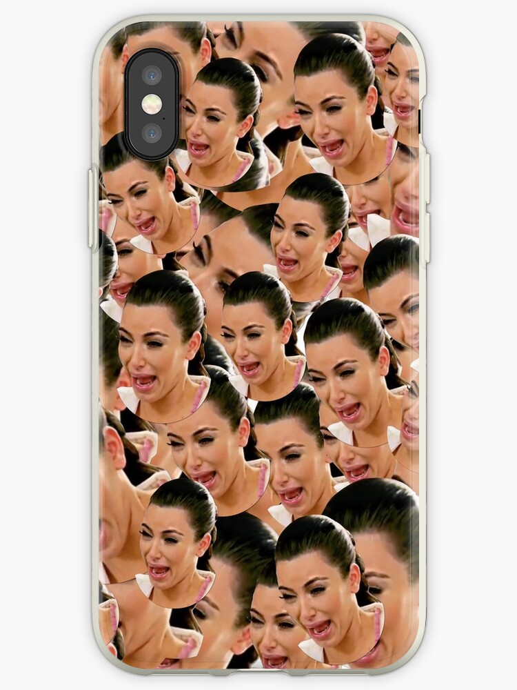 buy popular cb391 71190 'Crying Kim Kardashian' iPhone Case by ValentinaHramov