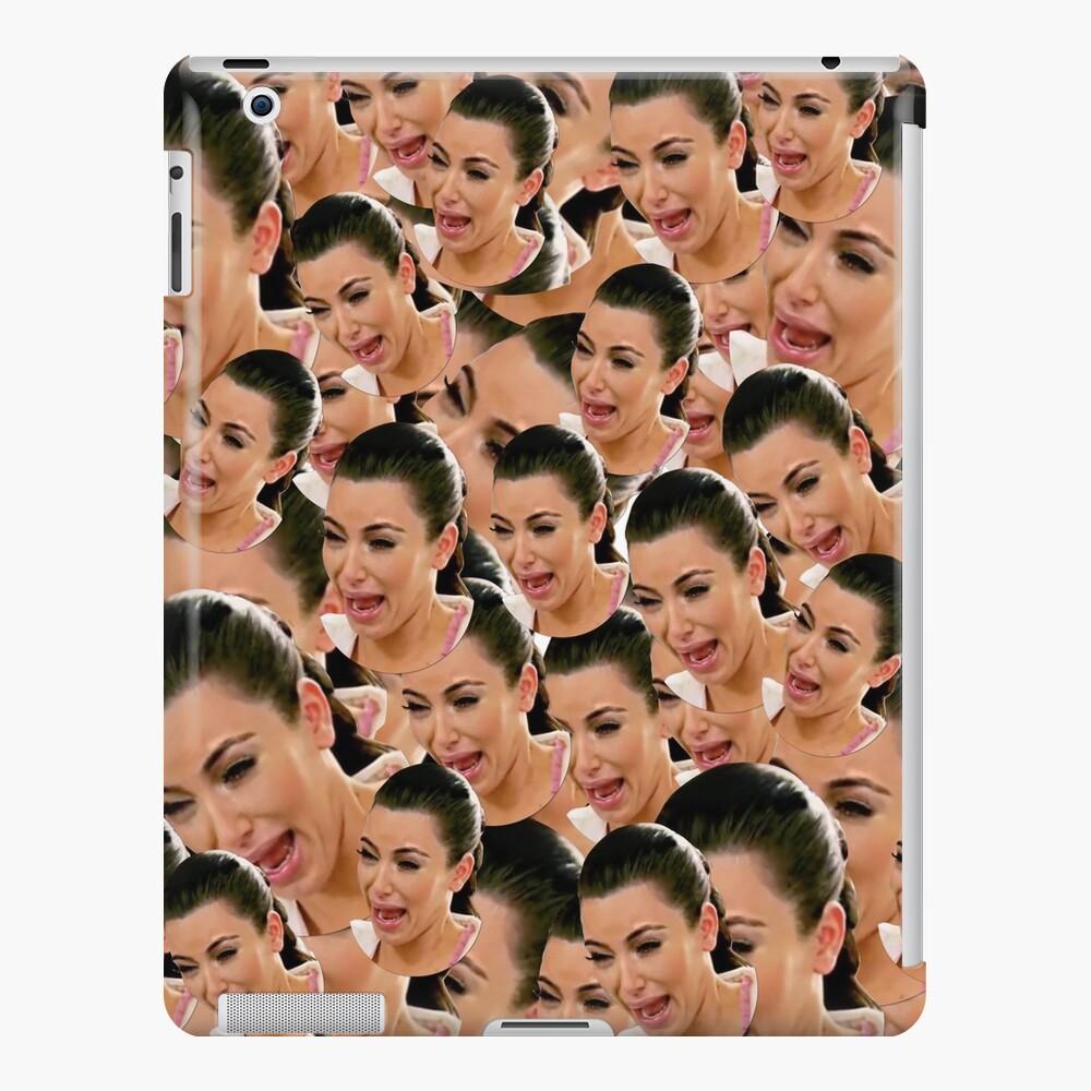 Crying Kim Kardashian iPad Case & Skin