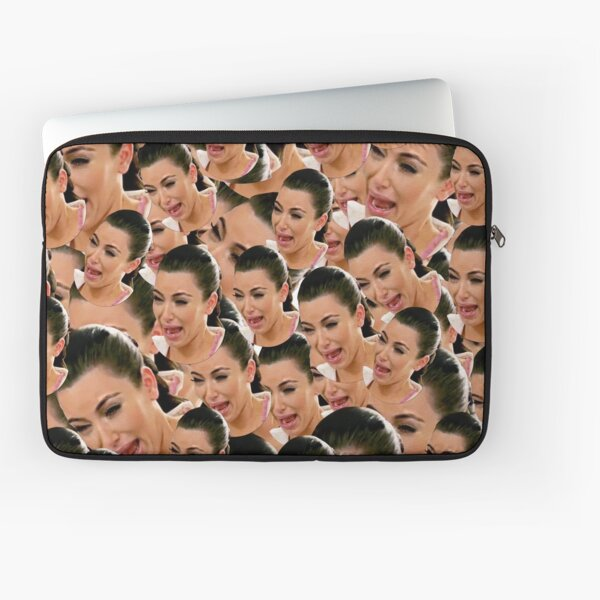 Crying Kim Kardashian Laptop Sleeve