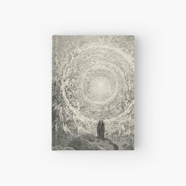 ANGELS AND DEMONS. Dante, Heaven, Heavenly, The Divine Comedy, Gustave Dore, Highest, Heaven. Hardcover Journal