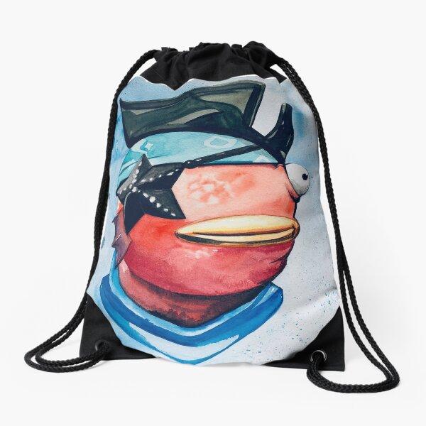 Fishstick  Drawstring Bag