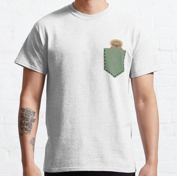 Sloth in a Pocket Classic T-Shirt